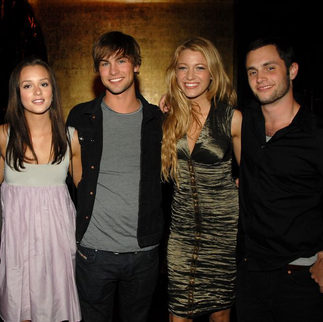 exclusive, premium rates apply ed westwick, leighton meester, chace crawford, blake lively and penn badgley of gossip girl photo by kevin mazurwireimage for the cw network