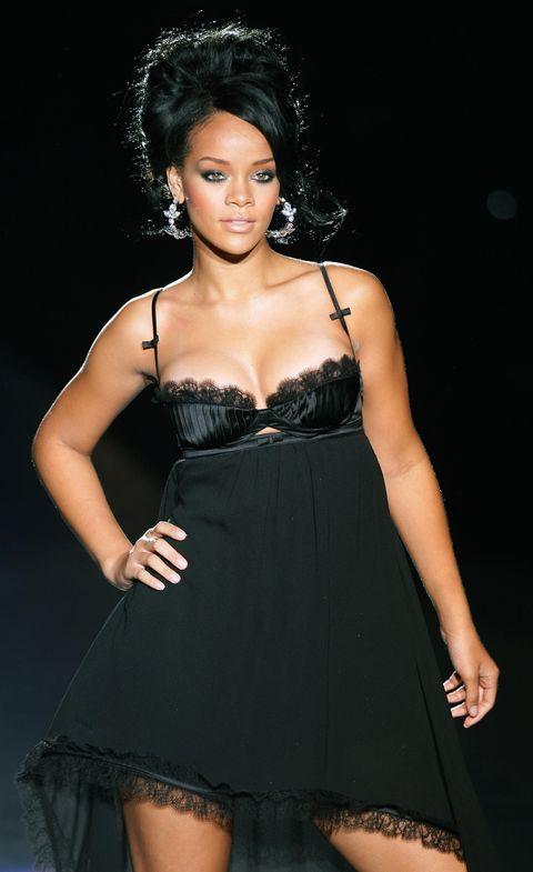 Clothing, Fashion model, Dress, Fashion, Cocktail dress, Beauty, Model, Black hair, Little black dress, Strapless dress,