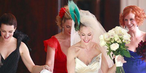 Facial expression, Bride, Headpiece, Ceremony, Wedding, Dress, Event, Wedding dress, Bridal clothing, Veil,