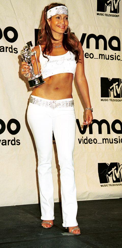 jennifer lopez bij de mtv awards 2000