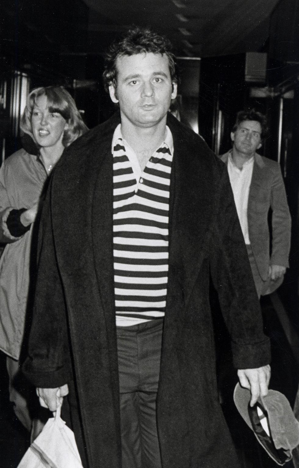 Bill Murray out in NYC in 1979.