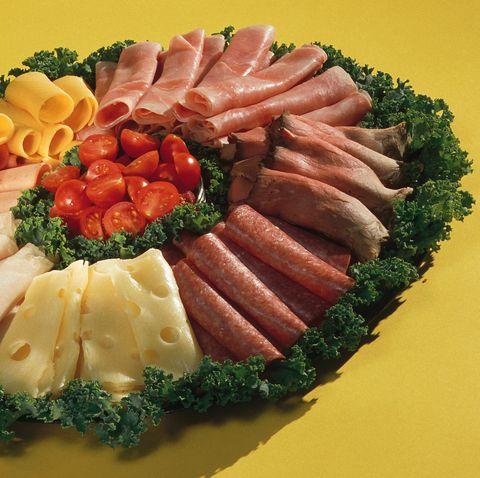 deli meat wreath