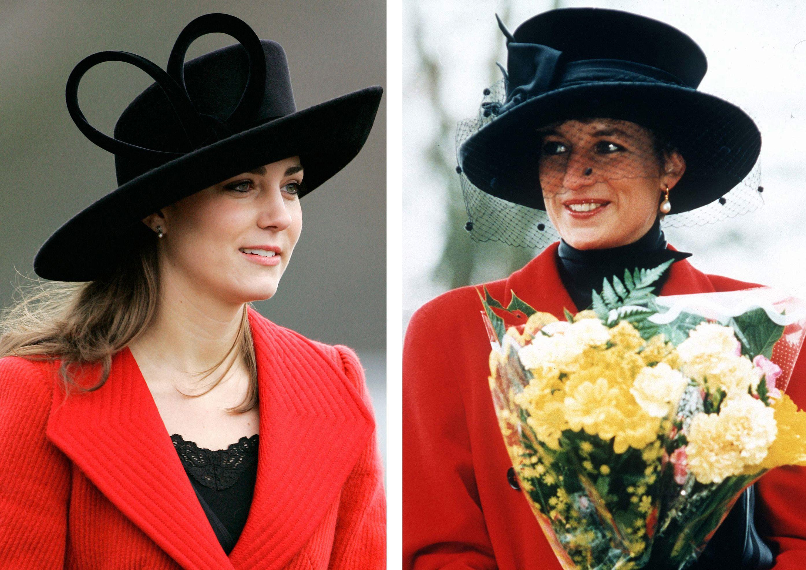 凱特王妃,黛安娜王妃