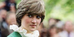 Lady Diana Spencer (later to become Diana, Princess of Wales