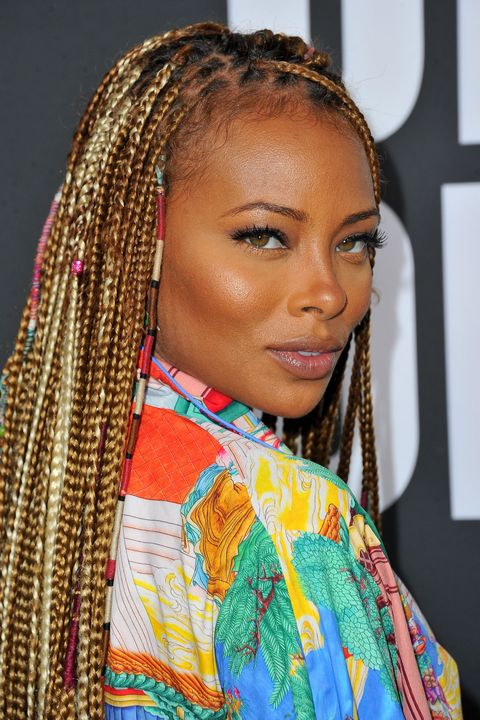 20 Fun Box Braid Hairstyles How To Style Box Braids
