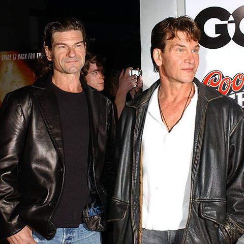 celebrities with siblings   don swayze