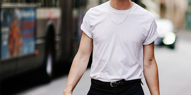 Best white t shirts for any budget best white tees for men for The best plain white t shirts