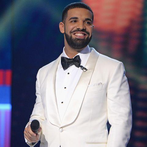 Drake at the 2017 NBA Awards Live