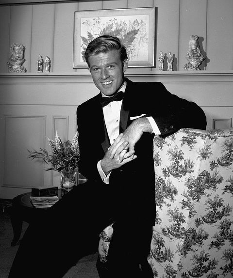 american actor robert redford on the set of an episode of the alfred hitchcock hour entitled a tangled web,   december 13, 1962 the episode was originally broadcast on  january 23, 1963 photo by cbs photo archivegetty images