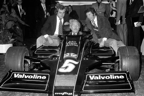 Formula One Motor Racing - Lotus 78 Launch - London