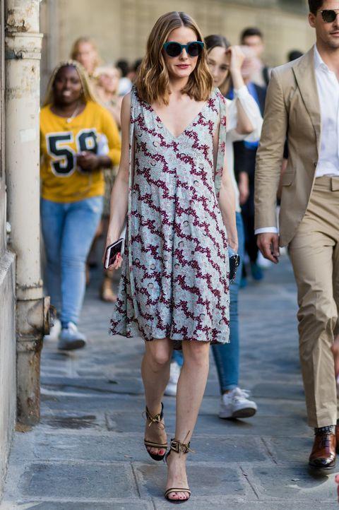 碎花洋裝, 碎花連身裙, 連身裙, Olivia Palermo