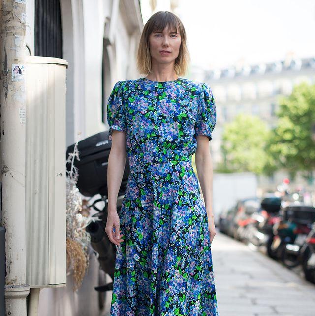 cómo llevar el vestido de té en verano