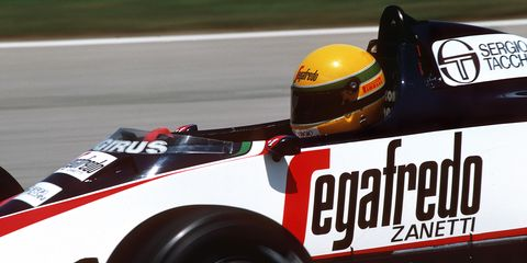 Ayrton Senna, Grand Prix Of Brazil