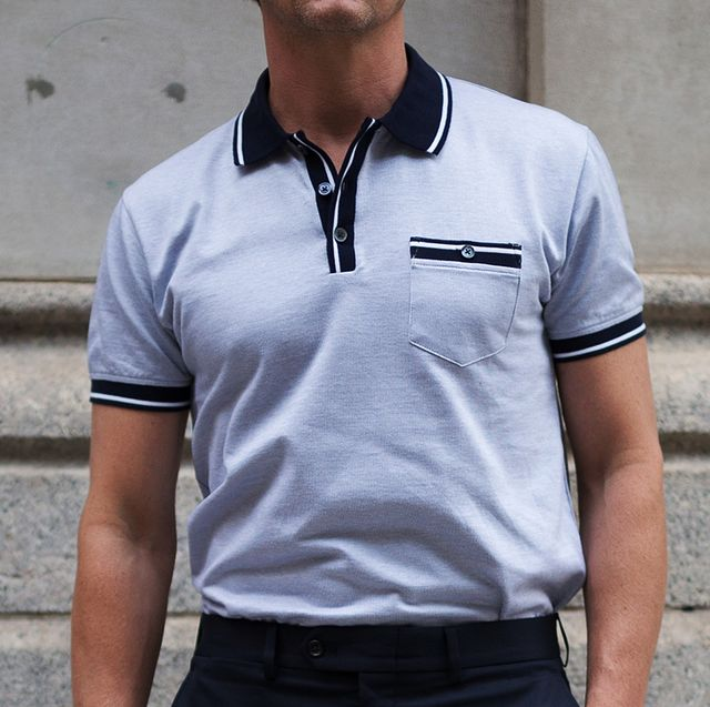 bbfa297b0 Street Style - NYFW: Men's July 2017 - Day 1. Matthew SperzelGetty Images.  The polo shirts ...