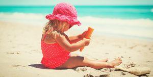 Beste zonnebrandcrèmes kinderen