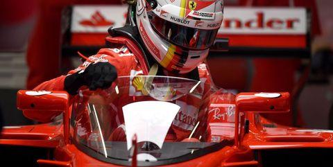 Vettel F1 Shield