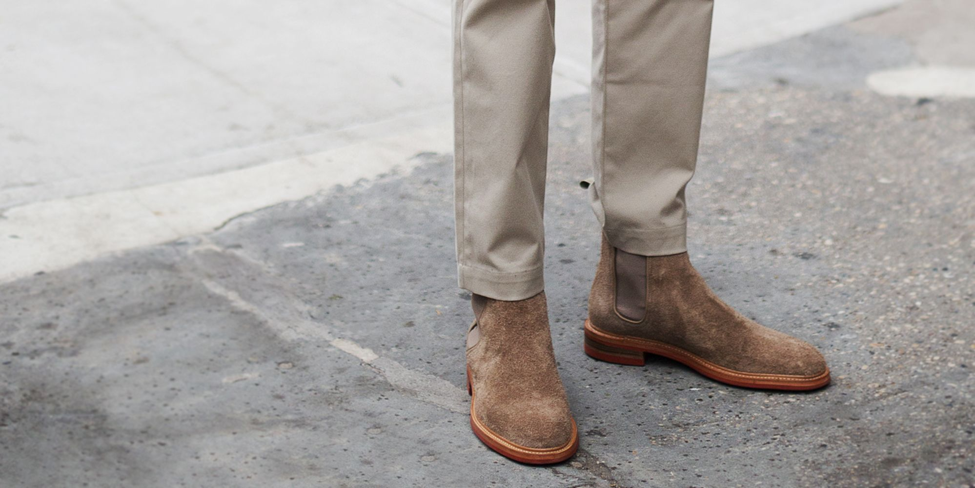 b7f7712c1a41 11 Suede Chelsea Boots to Pull Every Outfit Together This Spring