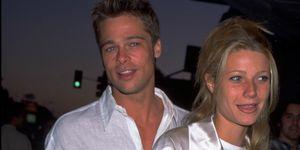 Brad Pitt and Gwyneth Paltro