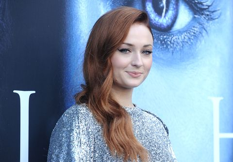 Sophie Turner Wasn't Allowed to Wash Her Hair While She Was Filming 'Game of Thrones'