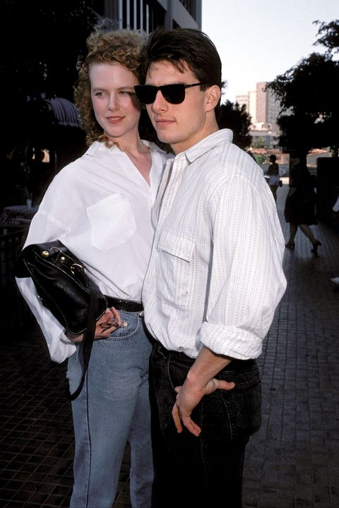 Tom Cruise and Nicole Kidman Sighting in Los Angeles in 1990