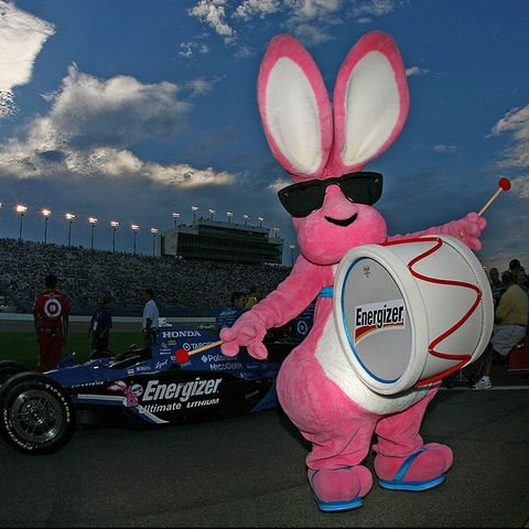 Pink, Cartoon, Easter bunny, Sky, Mascot, Vehicle, Games,