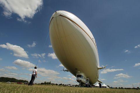 Zeppelins Return To The Skies Of London