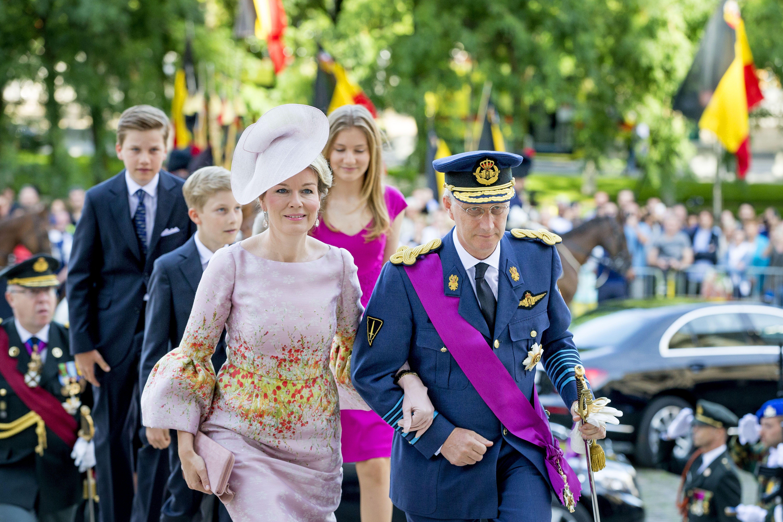 National Day Of Belgium 2017