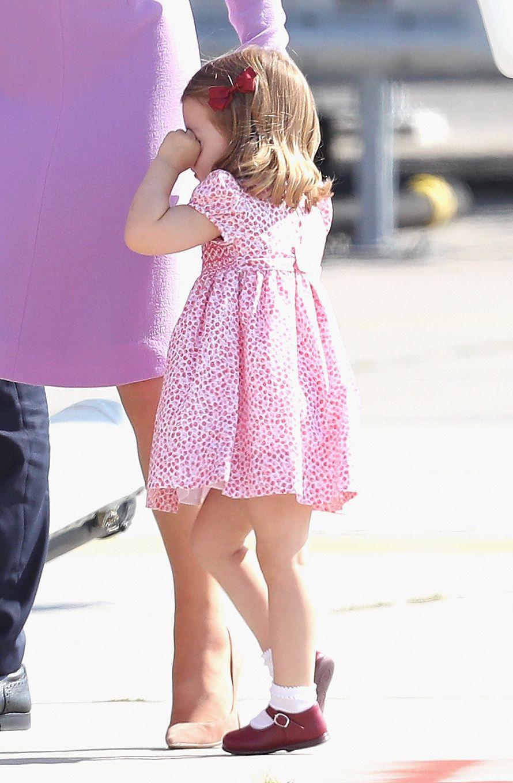 princess charlotte crying
