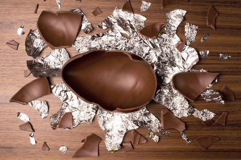 Cadbury Crunchie easter egg