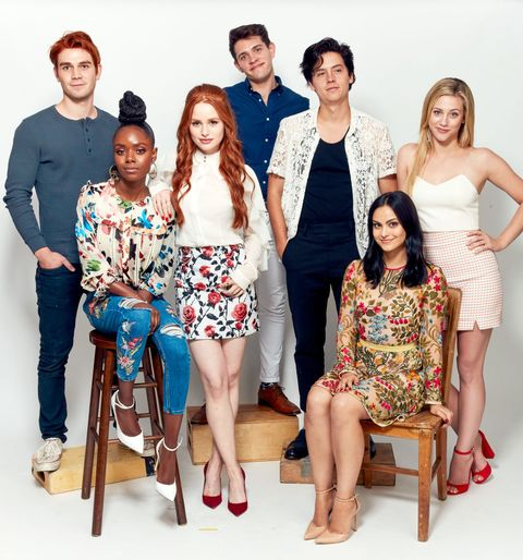 Riverdale cast at comic con image m4hsunfo