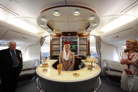 inside emirates planes