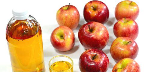 Natural foods, Apple, Fruit, Apple cider vinegar, Food, Apple juice, Plant, Non-alcoholic beverage, Pectin, Superfood,