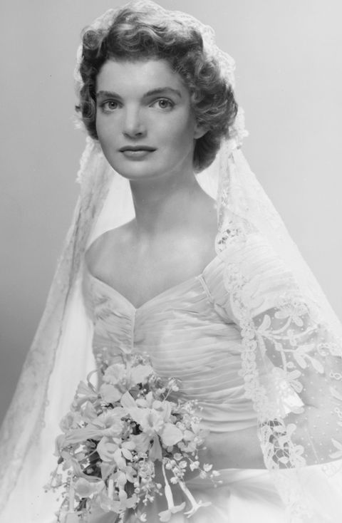 Jackie Kennedy Wedding Portrait