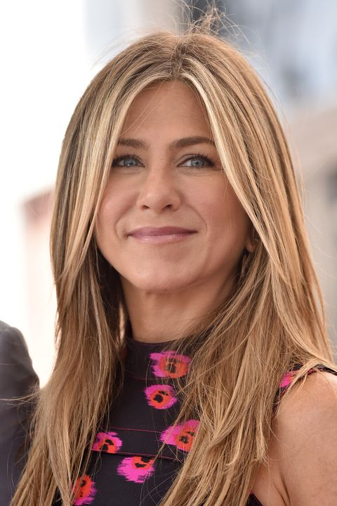 Jennifer Aniston attends the ceremony honoring Jason Bateman with Star on the Hollywood Walk of Fame
