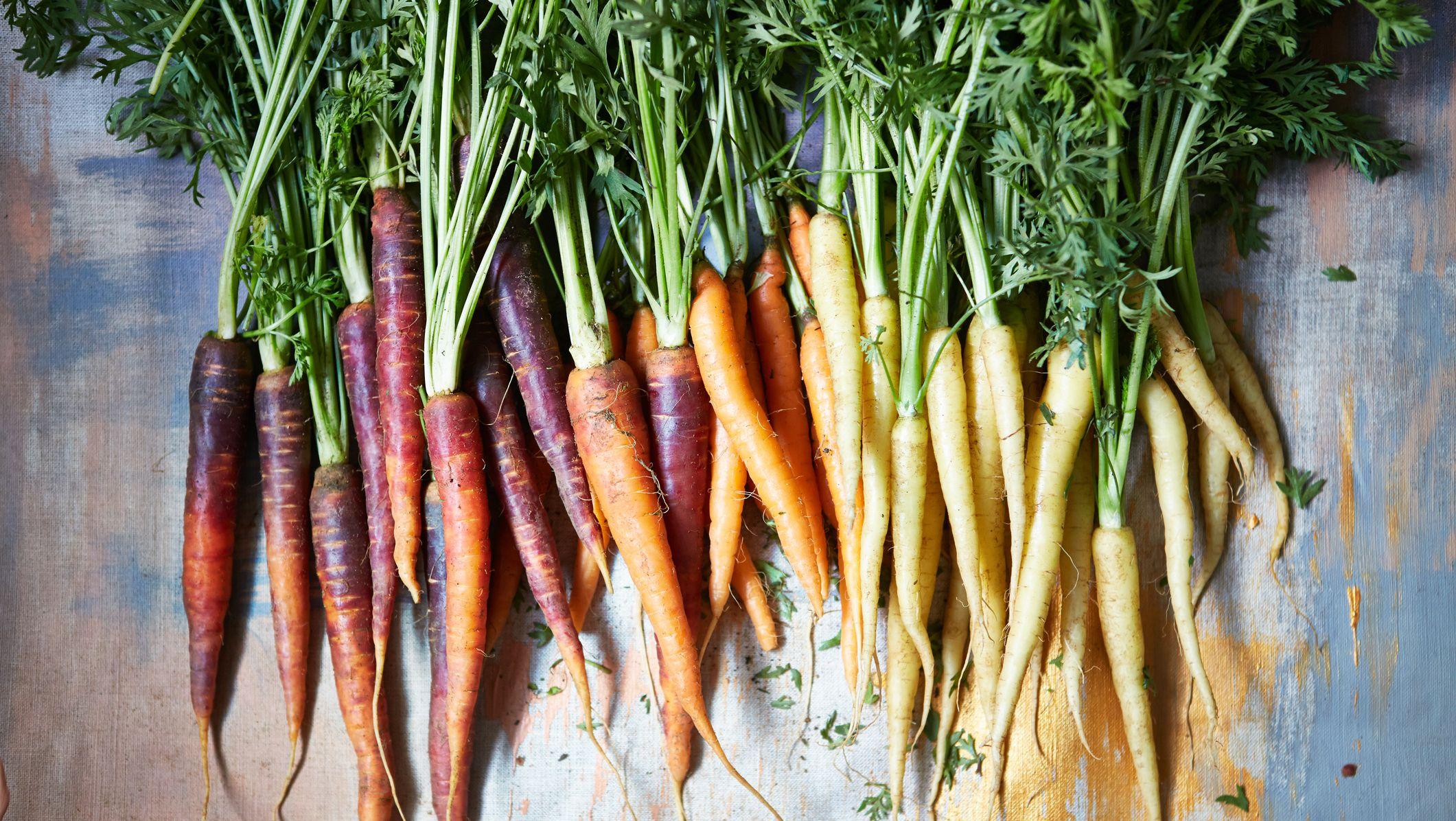 carrots vitamin a foods