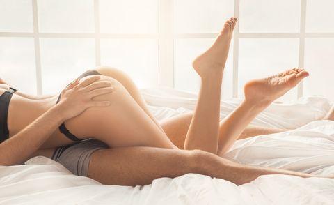 Leg, Human leg, Skin, Thigh, Beauty, Lingerie, Blond, Undergarment, Long hair, Human body,