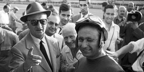 Enzo Ferrari, Juan Manuel Fangio, Grand Prix Of Italy