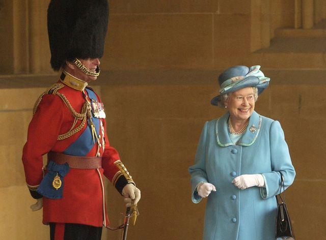 reina isabel ii y príncipe philip