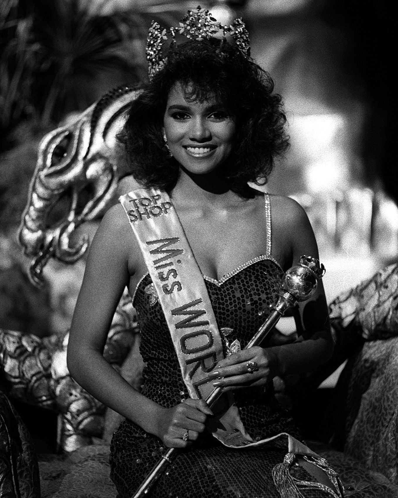 Where It All Began As Halle pointed out on her Instagram , the Miss World competition of 1986 is where it all began. The Cleveland, Ohio, native won Miss Ohio that same year and was first runner-up at Miss USA.