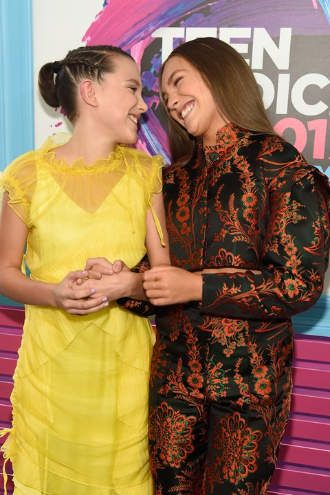 Millie Bobby Brown and Maddie Ziegler