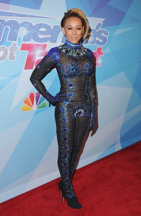 Mel B Went To Americas Got Talent Dressed As A Nearly-Naked Superhero-2282