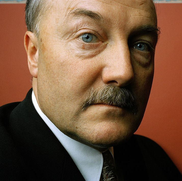 1997: George Galloway The British politician's thick, pronounced mustache became a part of his signature look as he led his constituents.