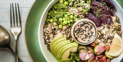 Dish, Food, Cuisine, Ingredient, Salad, Superfood, Vegetable, Vegetarian food, Produce, Vegan nutrition,