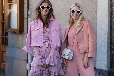 rosa colore moda primavera 2018