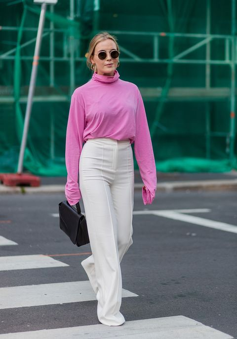 Pink, Clothing, Street fashion, Shoulder, Fashion, Green, Turquoise, Sunglasses, Snapshot, Eyewear,