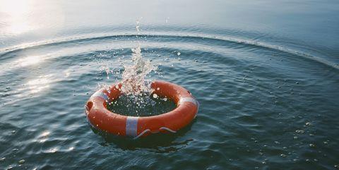 Drowning - Life Preserver