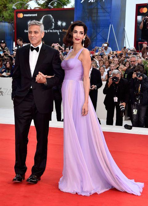 2017 Venice Film Festival red Carpet fashion amal clooney