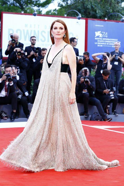 2017 Venice Film Festival Red Carpet Fashion Julianne Moore