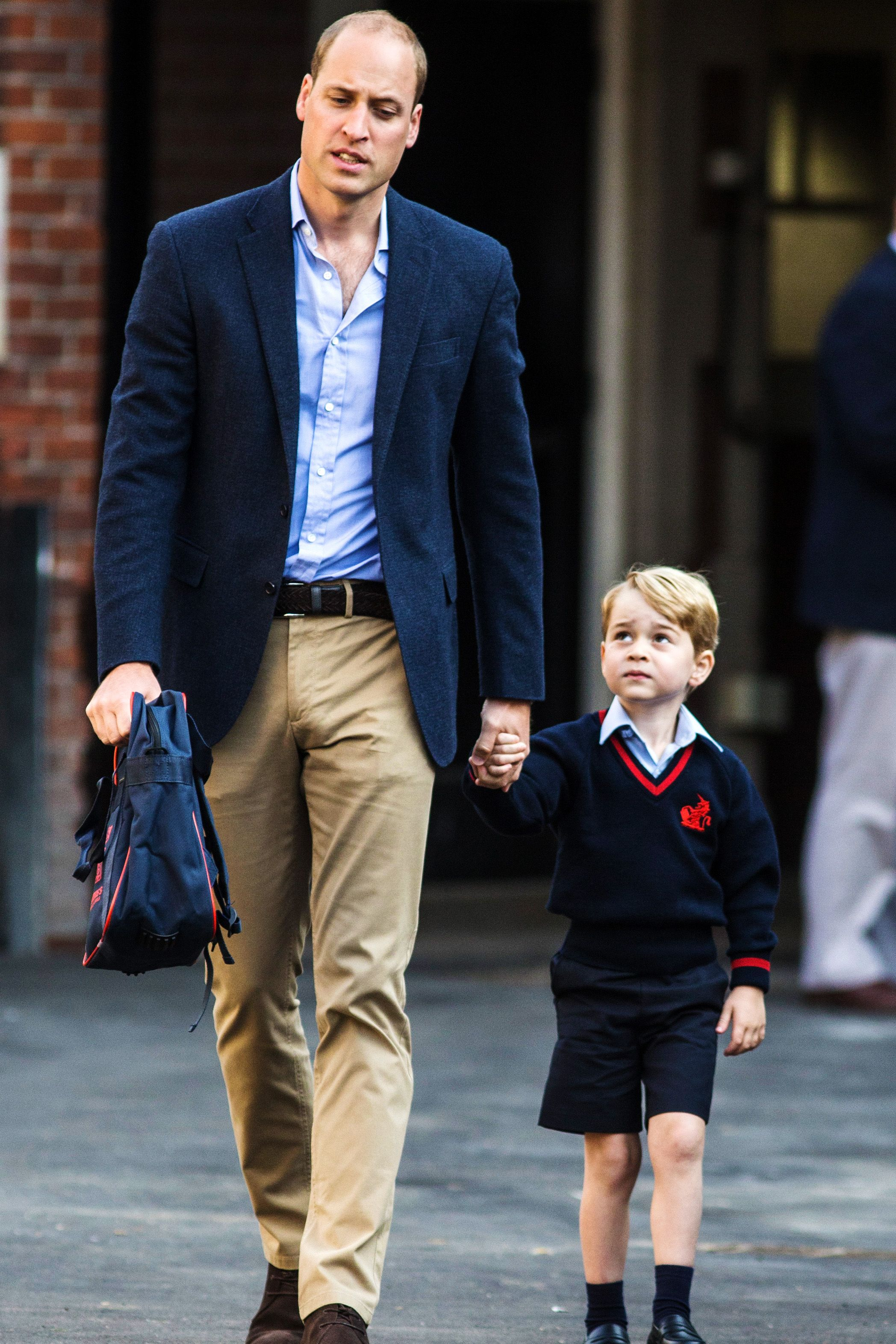 Prince William, Duke of Cambridge and Prince George of Cambridge