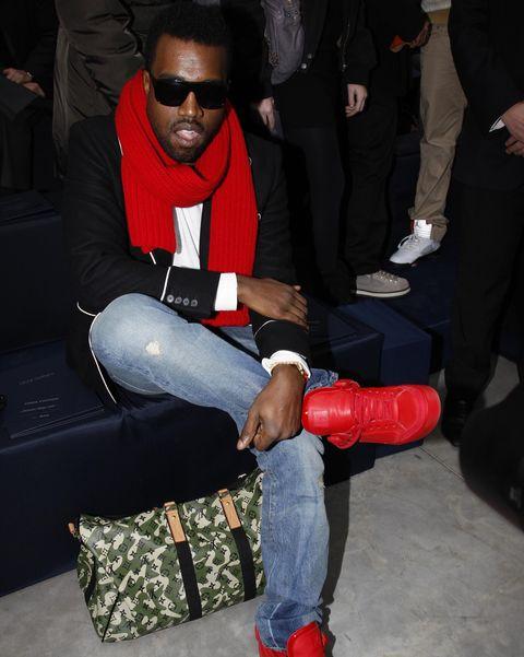 Footwear, Shoe, Leg, Sitting, Carmine, Jeans, Style,
